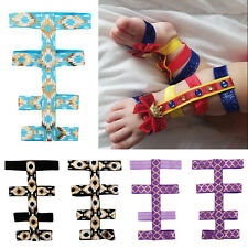 Baby Girl Boy Barefoot Gladiator Sandals Shoes Foot Flower Photo Props