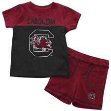 South Carolina Gamecocks Infant T-Shirt and Shorts Boy's 2-Pc Set