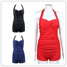 Swimwear Women Bikini Set Bandage Push-Up Swimsuit Halter Padded Beachwear M-4XL