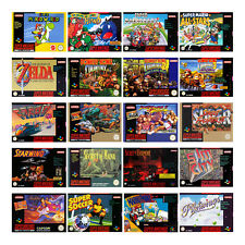The best SNES / Super Nintendo / Super NES Games (Only Module) (used)