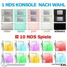 Nintendo DS Lite Hand held Console + 10 Games