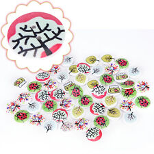 2 Holes 20mm Rural Series Buttons Clothing Sewing DIY Craft LACA