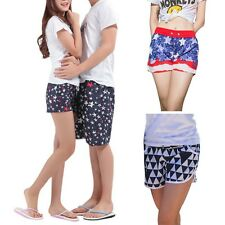 Men Women Couple Beach Short Pants Lovers Swimwear Beachwear Swim Shorts