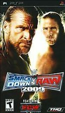 WWE SmackDown vs. Raw 2009 Featuring ECW (Sony PSP, 2008) ~ COMPLETE ~