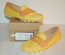 New $178 Cole Haan Nike Air Sadie Driver Loafer Sunlight Yellow/Citrine Leather