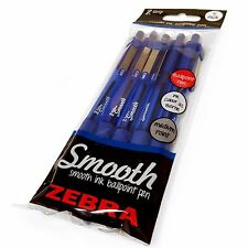 Z-Grip Smooth - Retractable Ballpoint Pen - Pack of 5 pens - Black