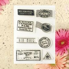 Clear Stamp Cling Sheet DIY Seal Craft