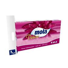 Toilet Paper Mola Deluxe Many Casters Pack 4-lagig 150 Sheet / Reel White