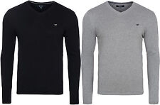 NEW MUSTANG Basic V-Neck Jumper Pullover Men's Sweatshirt Sweater 6086 1104 WOW