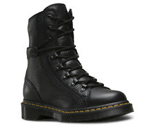 Dr Martens Ladies Coraline Aunt Sally Black Lace Up Boots