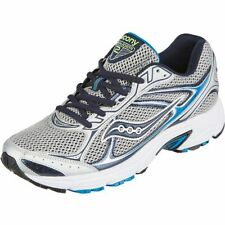 Saucony Men's Grid Marauder 2 Running Shoes in Silver with Blue 7 to 15