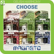 HARMONY GELISH MAGNETO 2012 Duo Magnet Set: Gel Polish+Magnetic Lacquer SHIP 24H