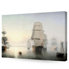 DecorArts Boston Harbor Sunset Fitz Henry Lane Reproductions Giclee Prints