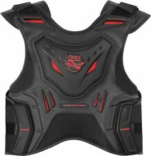 Icon 2017 Stryker Vest Black/Red CE Battlescar Back Armor Protection All Sizes