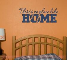No Place Like Home Softball Wall Sticker Decals Sports Vinyl Lettering Art Decor