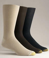Gold Toe Metropolitan Cotton Dress Socks 3-Packs Hosiery - Men's