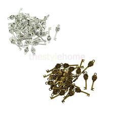 MagiDeal 50Pcs 32 x 9mm Steam Punk Skull Key Charms Pendant for Jewelry Makings