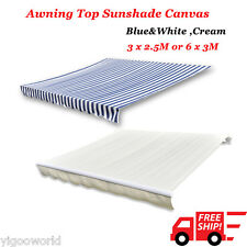 Awning Canopy Garden Patio Sunshade Shelter Replacement Top Canvas Rain Cover UK