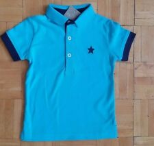 BNWT baby boys blue POLO tops/tshirts 6-9,9-12, 12-18,18-24 months NEXT