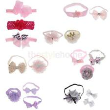 MagiDeal Lovely Baby Girls Toddler Lace Flower Hairband Bow Hairband Ornaments