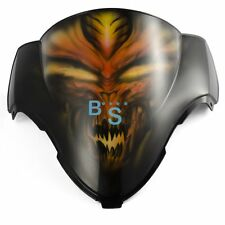 Airbrushed Orange Windscreen Windshield Fit Honda Fairing motorcycle