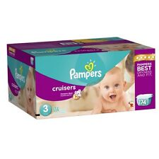 Pampers Cruisers Diapers Sizes 3-7