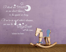 Wall Decals We Can Be Together Quotes Decal Winnie The Pooh Vinyl Sticker aa230