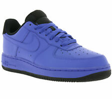 NEW NIKE AIR Force 1 ' 07 Shoes Trainers Blue Dark blue 315122 420