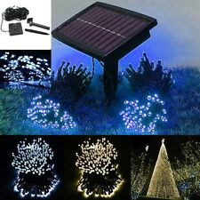 100 200 LED String Solar Battery Lights Outdoor Garden Party Fairy Tree Lamp K6