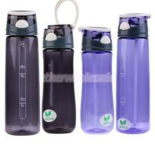 700ml / 550ml Drink Bottle with Leak Proof Lid Flip Up Straw Sports School