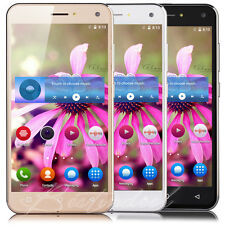"""5"""" Quad Core Android 5.1 Smartphone 3G Unlocked Mobile Cell Phone Dual SIM GPS"""