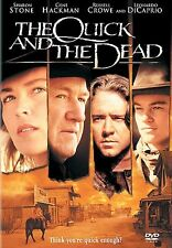 The Quick and the Dead (DVD, 1998, Closed Caption) New Factory Sealed