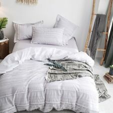 Merryfeel yarn dyed Duvet Cover Set 100% cotton Twin Queen King