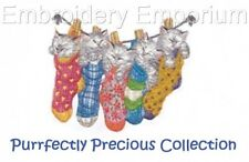 PURRFECTLY PRECIOUS COLLECTION - MACHINE EMBROIDERY DESIGNS ON CD