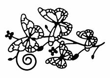 Large - Four Interlinked Butterfly's Butterfly Die Cutouts x Pack of 4
