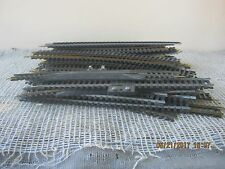 LOT OF HO SCALE RAILROAD TRACK - USED