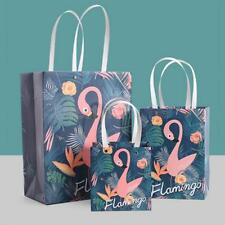 MagiDeal 6pcs Flamingo Loot Bags Carrier Bags Gift Bags/Favour Bags with Handle