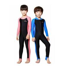 Kids Swimwear Coverall Wetsuit Surfing Scuba Diving Swimming Suit for Boys Girls
