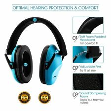 MPOW 25dB  Folding Ear Muff Safety Hearing Noise Protection Reduction for Kits