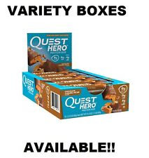 Quest HERO Protein Bars, Fresh Stock, Any Flavor + Variety Boxes, FAST SHIPPING!