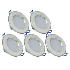 5X 3W High Power LED Recessed Ceiling Downlight Lamp Canister Light Easy Install