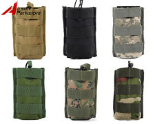 Tactical Military Molle Single Open Top 5.56 .223 Magazine Mag Pouch Bag Holster