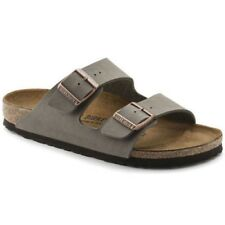 Birkenstock Men's Arizona BirkoFlor Sandals Stone 15121