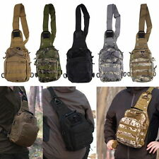 Outdoor Military Shoulder Tactical Backpack Camping Travel Hiking Trekking BagLY
