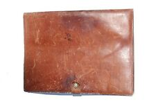 "9 1/4"" x 12 1/2"" Leather Binder With Clasp"