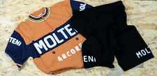 MOLTENI vintage wool jersey and shorts SET, new, never worn
