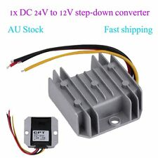 Waterproof DC/DC Voltage Converter Regulator 24V Step Down to 12V 5A Adaptor OP