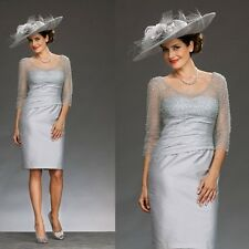 Elegant Mother Of The Bride Dress Mothers' Day Gifts Formal Gowns Plus Size New