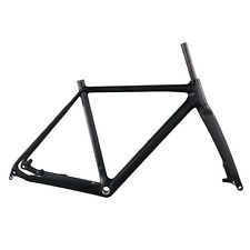 IMUST Carbon Lightweight Cyclocross Bike Frameset with Carbon Fork Disc Brake