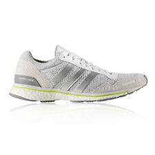 Adidas Adizero Adios 3 Womens White Silver Sneakers Running Shoes Trainers